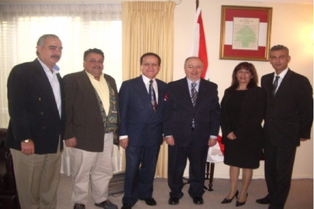 AABC welcomed Arab Diplomats as Honorary Members